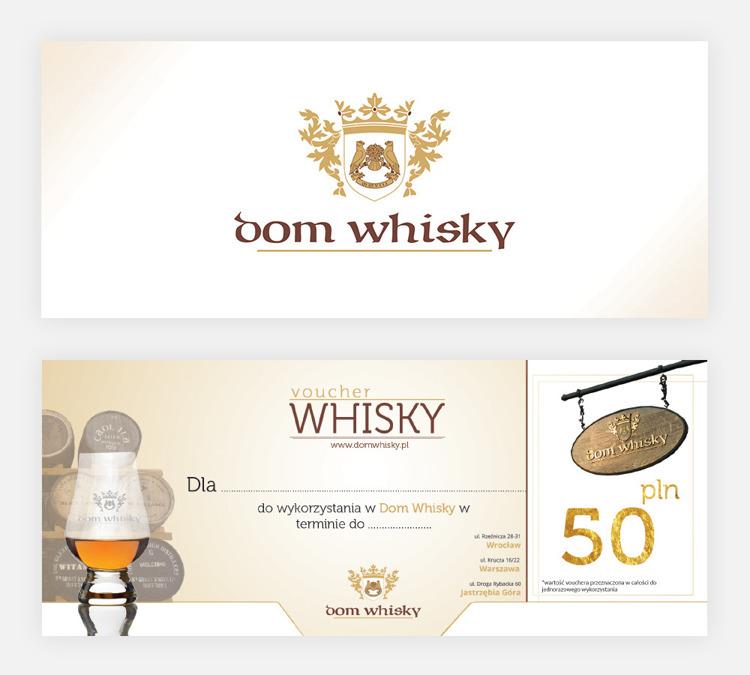Bon Voucher Domu Whisky - 50 zł