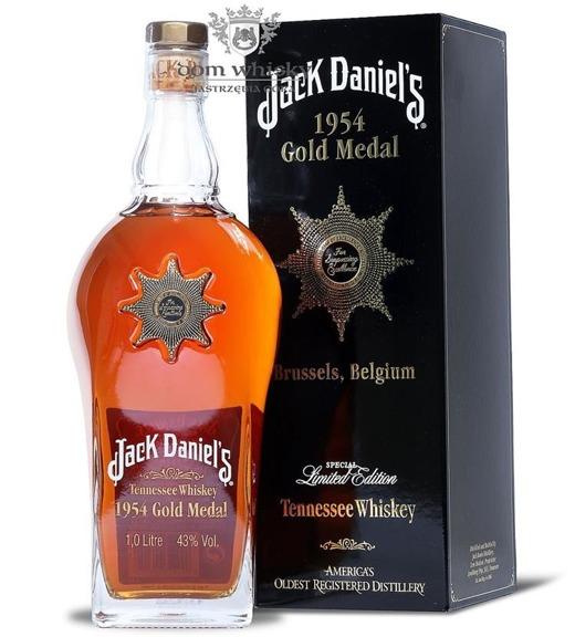 Jack Daniel's Gold Medal 1954, Brussels / 43% / 1,0l