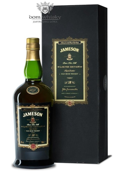 Jameson 15 letni Pure Pot Still Limited Edition / 40%/ 0,7l